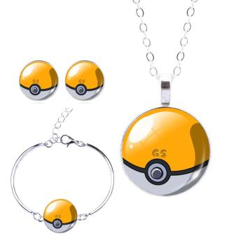 "Schmuckset ""Pokeball"""
