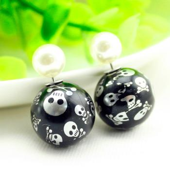 "Ohrstecker ""Jolly Roger Ball"""